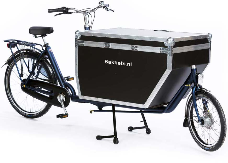 Bakfiets 2017-022 Flightcase op Cargo long